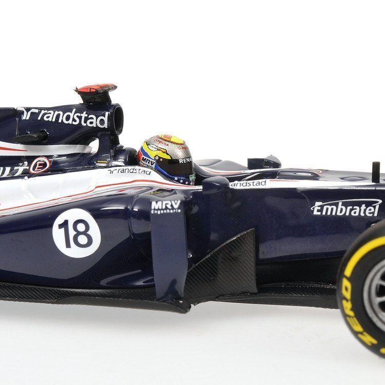 MINICHAMPS 1 43  2012 WILLIAMS F1 TEAM SHOWvoiture PASTOR MALDONADO 410120088 LTD 504  meilleurs prix et styles les plus frais