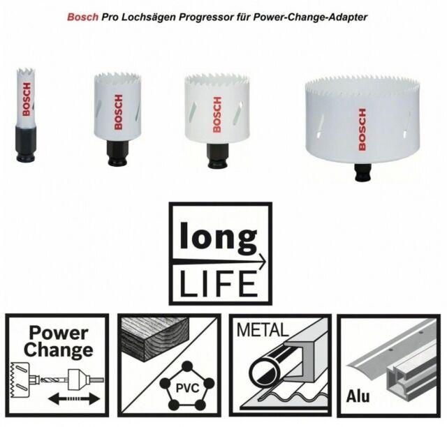 Bosch Lochsägen Progressor für Holz und Metal für Power-Change-Adapter