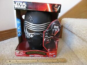 Star Wars The Force Awakens Kylo Ren Electronic Voice Changer Mask Hasbro Disney