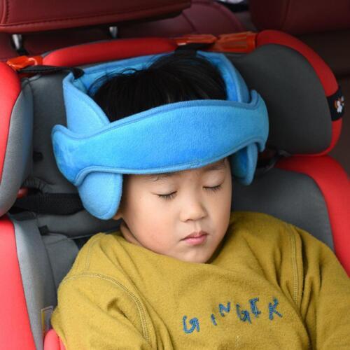 Baby Sicherheits Autositz Schlaf Hilfe Kinder Kopf Stützhalter Schutz Gurt NEU