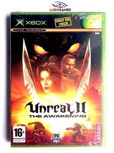 Unreal-II-The-Awakening-Xbox-Videojuego-Neuf-Scelle-Scelle-Nouveau-Pal-Spa