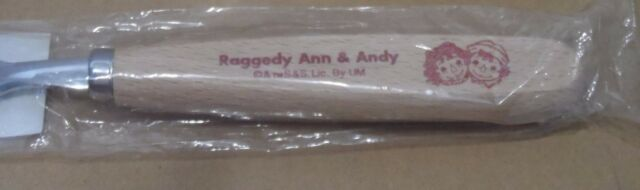 NEW RAGGEDY Ann /& Andy ADULT Fork Spoon Wooden Handle  Simon /& Schuster Japan
