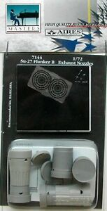 Aires-1-72-Sukhoi-Su-27-Flanker-B-Exhaust-Nozzles-For-Hasegawa-kits-7144