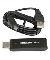 Usb2.0 Plug & Play Smart Keyboard/mouse Km Switch