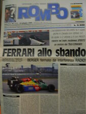ROMBO 24 1988 n°2 riviste - Stradominio MC Laren con Senna e Prost
