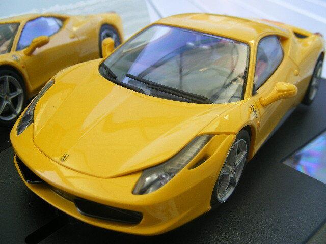 Carrera Evolution 27343 Ferrari 458 Italia Yellow NIP