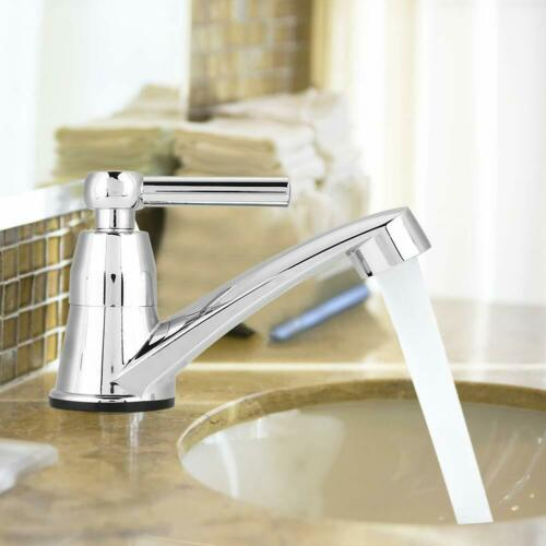 Water Tap Single Cold Faucet Bathroom Basin Kitchen Sink Rest Room Washing Basin
