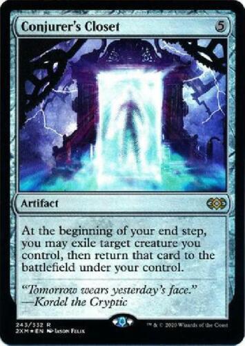 Foil Near Mint MTG Double Masters Conjurer/'/'s Closet 243//332
