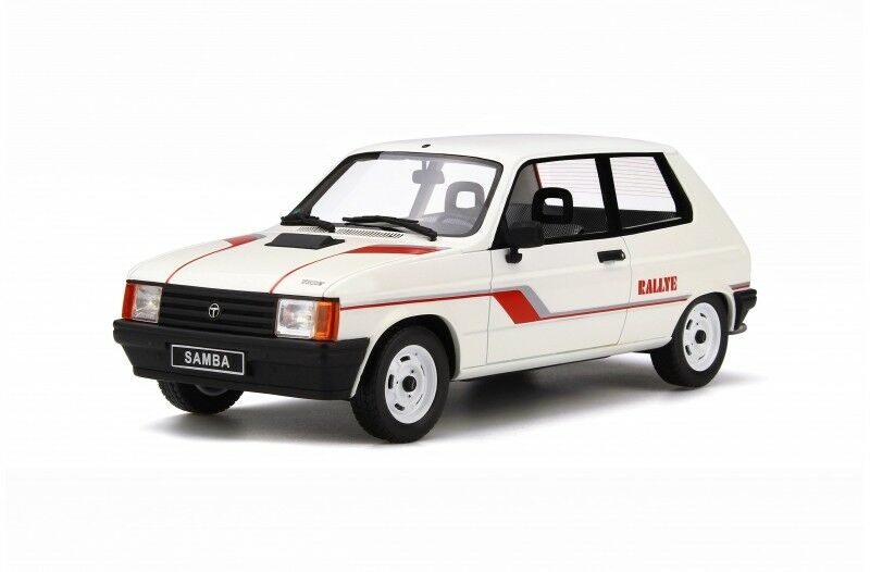 Otto Mobile Talbot Samba Rallye 1983 1 18 blancoo