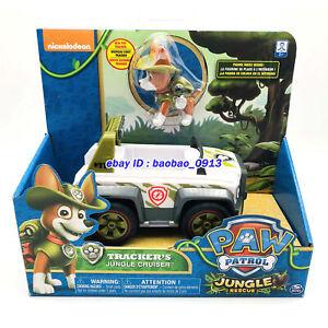 Nickelodeon-PAW-Patrol-Dog-Tracker-039-s-Jungle-cruiser-Rescue-Model-Car-Kids-Toy