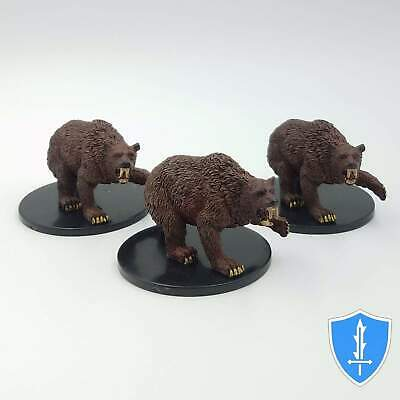 Rise of the Runelords ~ DIRE BEAR #38 Pathfinder Battles large miniature