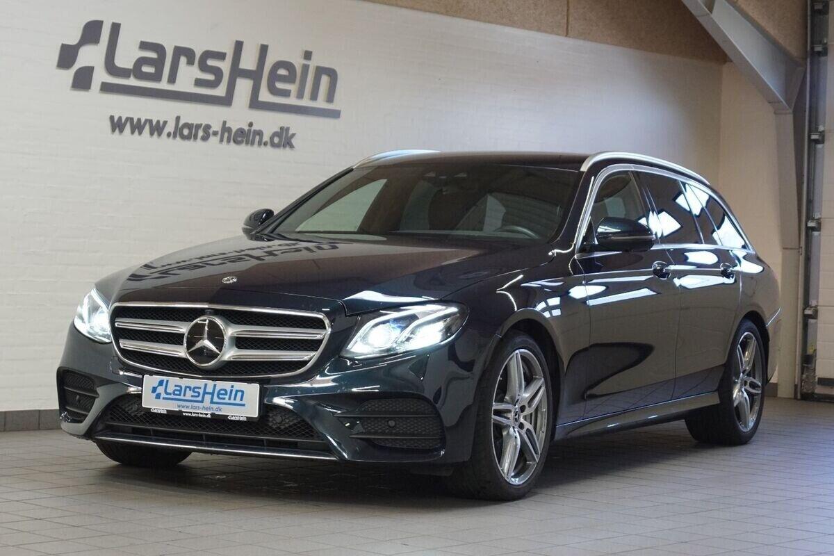 Mercedes E350 d 3,0 AMG Line stc. aut. 5d - 649.800 kr.