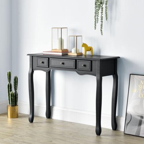 Konsolentisch mit 3 Schubladen Konsole Beistelltisch Frisiertisch Schreibtisch