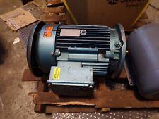 Sew Eurodrive 10 Hp Ac Electric Motor 230460 Vac 1740 Rpm Tefc Dfv132m4c Ks