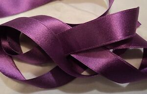 """ORCHID #38 1-1//2/"""" WIDE DOUBLE FACE SILK SATIN RIBBON"""