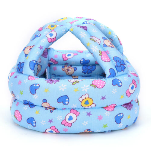 Baby Toddler Infants No Bumps Safe Warm Cap//Hat Helmet Headguard Protect HA