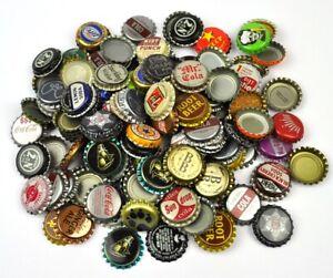 Set-Con-50-USA-Birra-Soda-Tappo-Bottiglia-Caps-Convoluzione-Mix-3-Vintage