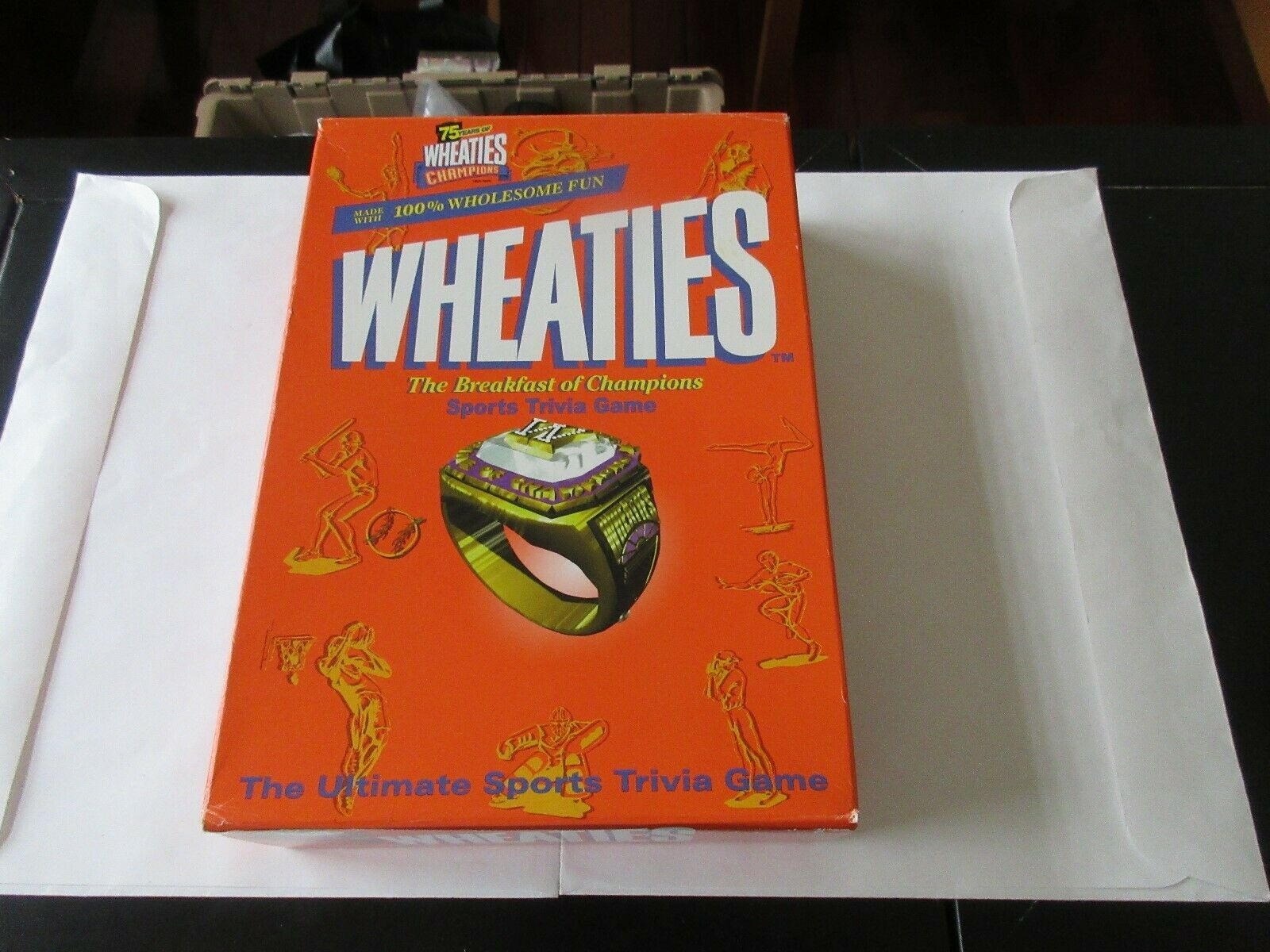 Wheaties , Breakfast Of Champions , Sports Trivia Game