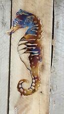Seahorse Nautical Marine Sea Life Wall Art Hanging Home Decor Garden Beach House