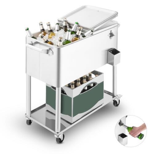 Springbreak Neu Blumfeldt  Gartentrolley Getränkewagen Beistelltisch Rollwagen