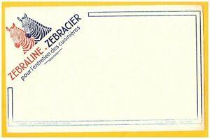 """CHOISY-le-ROI (94) BUVARD ENCAUSTIQUE """"ZEBRALINE ZEBRACIER"""" illustré ZEBRE H5zTTnrP-09095653-655544307"""