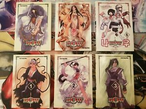 Now vol. 1-6 by Sung-Woo Park Manhwa Manga Graphic Novel Book Lot in English