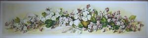 art-print-A-STUDY-OF-VIOLETS-Mary-E-Hart-Victorian-vtg-re-yardlong-flowers-35x9