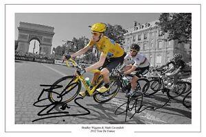 BRADLEY-WIGGINS-MARK-CAVENDISH-2012-TOUR-DE-FRANCE-SIGNED-AUTOGRAPH-PHOTO-PRINT