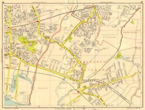 SOUTH HORNCHURCH Rainham Dagenham Elm Park GEOGRAPHERS AZ 1956