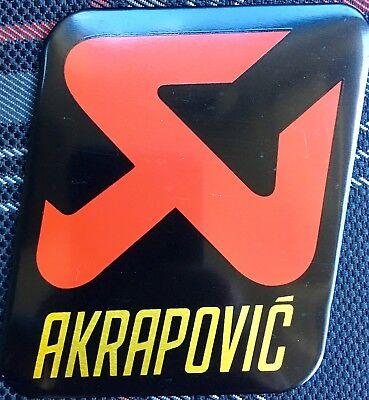 AKRAPOVIC 60mm//50mm Exhaust Heat Proof Resistant Sticker Decal Motorcycle Bike