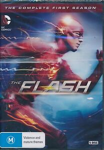 Flash-The-Complete-First-Season-One-1-DVD-NEW-Region-4Grant-Gustin
