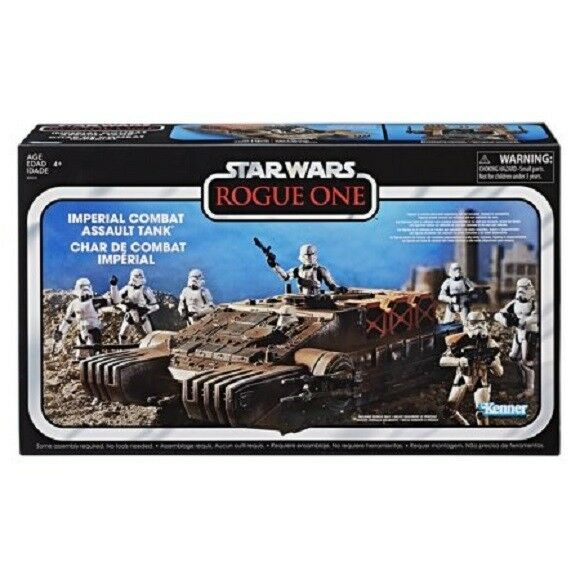 STAR WARS THE VINTAGE COLLECTION IMPERIAL COMBAT ASSAULT TANK DISTRESSED