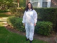Fully Ventilated Beekeeping Suit W/hood / Size Medium / Outstanding Quality