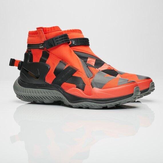 NEW Sz 8.5 Nike NSW NikeLab Sportswear Gaiter Boot Team orange Black AA0530-800