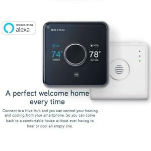 Hive-Heating-Cooling-Smart-Thermostat-Pack-Thermostat-Hive-Hub-Alexa-Google