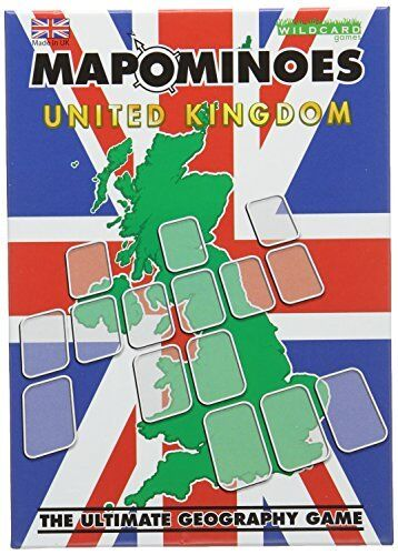 Wildcard Games Mapominoes UK The Ultimate Geography Game