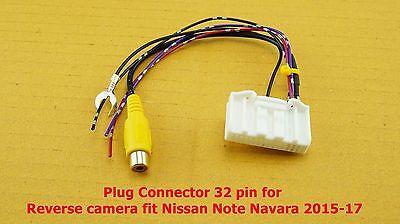 Para nissan murano 2 z51 Navara 3 d40 note 1 e11 antenas Adaptador Conector DIN