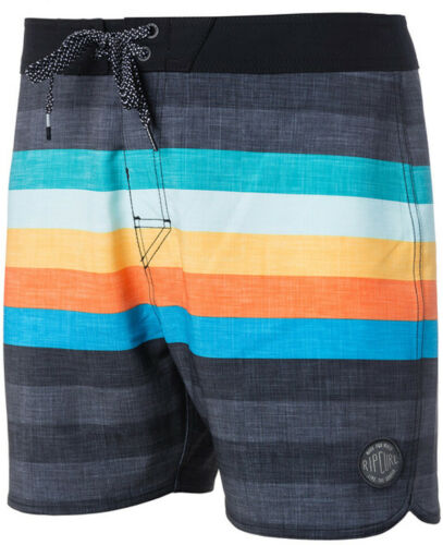 Rip Curl Retro Hey Mama 16/'/' Short Boardshorts in Black