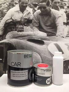 Peinture-carrosserie-0-85-L-Vernis-Auto-EXTRA-MAT-High-Solid-pret-a-l-039-emploi