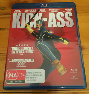 Kick-Ass-Blu-Ray-Region-B-Great-Condition