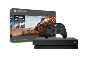Xbox-One-X-Microsoft-1TB-Forza-Horizon-4-Bundle-Console-Nero