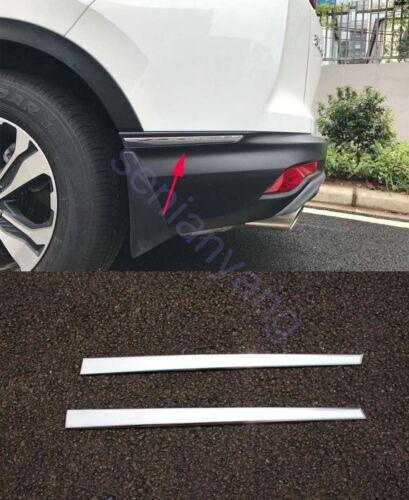 Stainless Steel Rear Corner Bumper Cover Trim For Honda CR-V CRV 2017-2018 Set