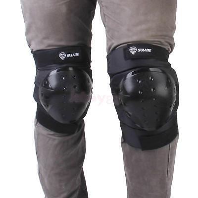 Motorcycle Motocross Knee Guards Protective Shin Pad Armor Gear