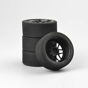 4Pcs-Foam-Tires-Wheel-Rims-Set-For-RC-HSP-HPI-1-10-On-Road-Racing-Car-12mm-Hex