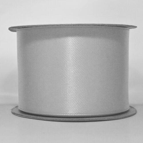 Ruban satin 3 mm 10 mm 16 mm 25 mm 38 mm 50 mm largeurs de coupe//échantillon Longueur