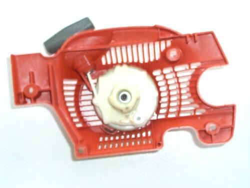 137 NEU Starter// Anwerfvorrichtung gewölbte Form für Husqvarna Motorsägen 136