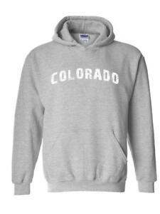 Colorado Home Of Cu Denver Uccs University Of Springs Map Hoodie