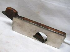 Early Machinists Rosewood Infill Rabbet Shoulder Plane Cabinet Makers Wood Tool