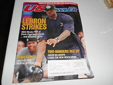 US BOWLER MAG - 2008 / 09 - LEBRON JAMES ON COVER