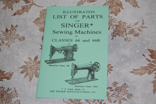 Service Manual Singer 40 Custom Singer Sewing Machine 6038
